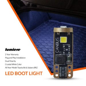 Lumiere Toyota 86 LED Boot Light