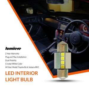 Lumiere Toyota 86 LED Interior Light Bulb