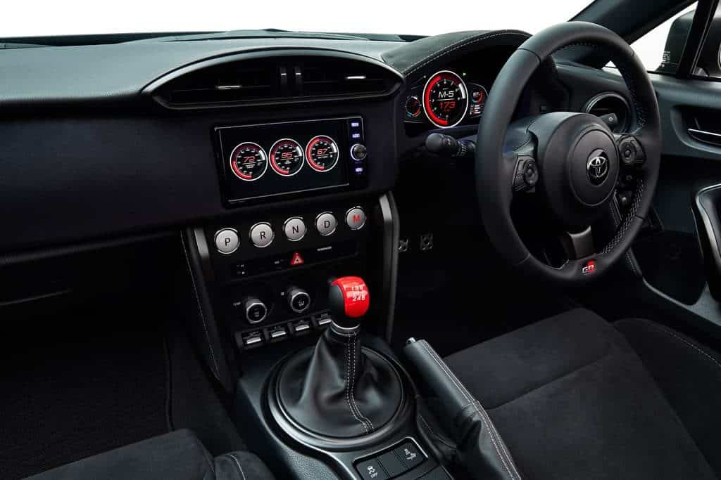 Toyota 86 2nd Generation Interior