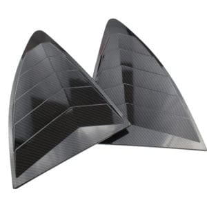 Rear Quarter Window Louvers