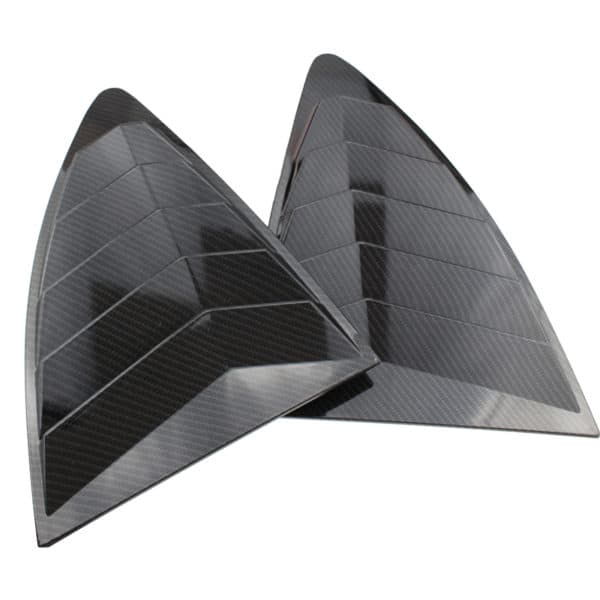 Toyota 86 Rear Quarter Window Louver Carbon