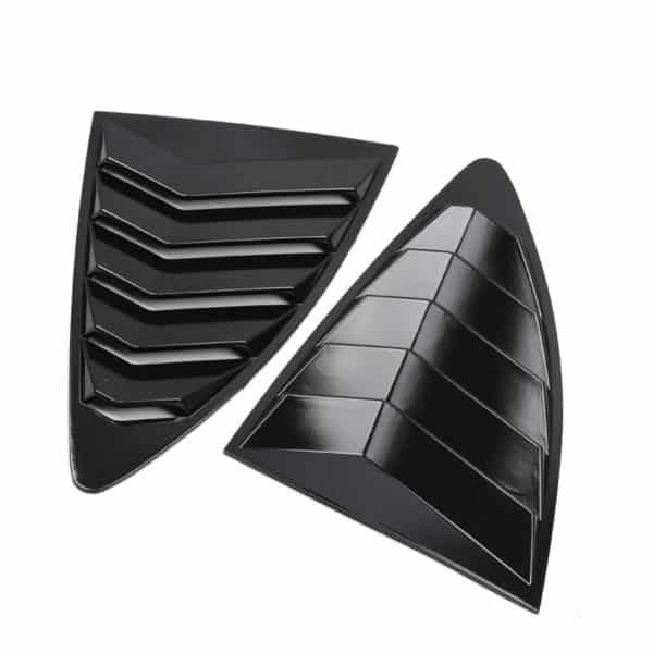 Toyota 86 Rear Quarter Window Louver Gloss Black