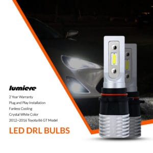 Lumiere Toyota 86 GT LED DRL Bulbs (Pair)