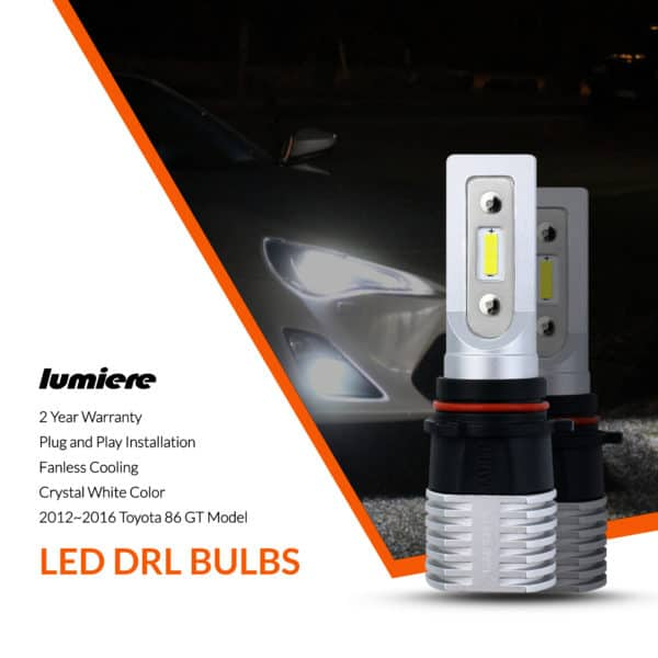 Lumiere Toyota 86 GT LED DRL Bulbs