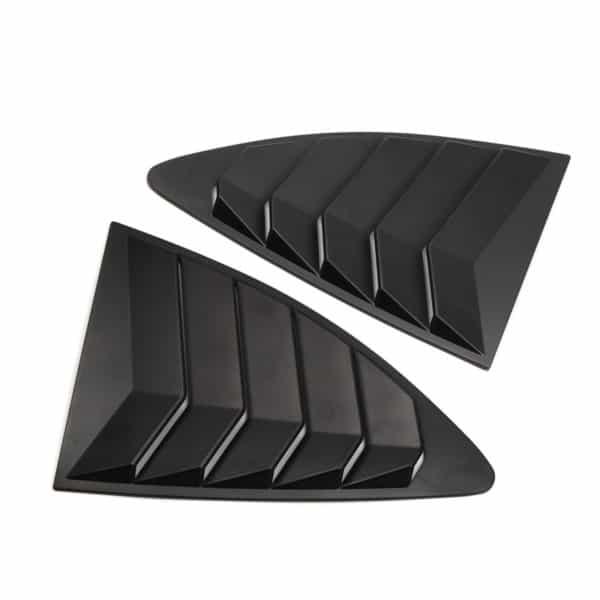 Toyota 86 Rear Quarter Window Louver Matt Black