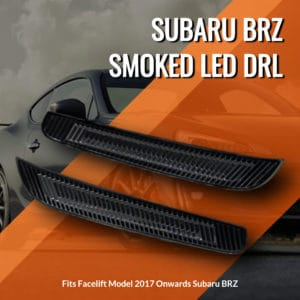 Subaru BRZ Smoked LED DRL