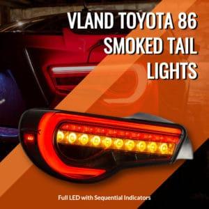 Vland Smoked Tail Lights