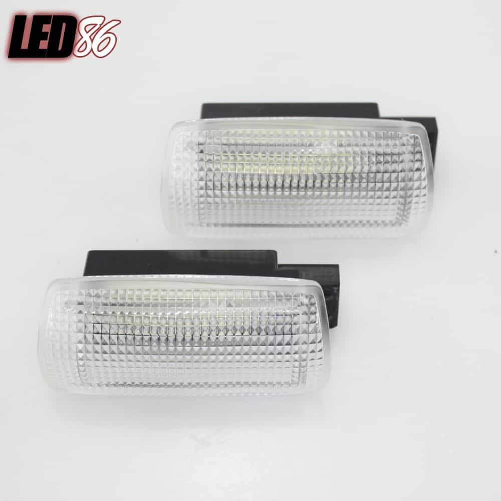 White LED Courtesy Door Lamp