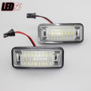LED License Plate Lamps