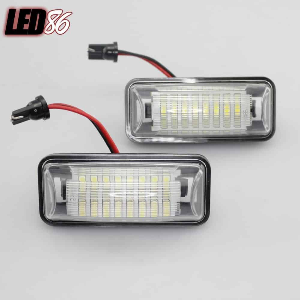 Toyota/Subaru LED Plate Lamps
