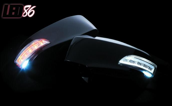 Valenti LED Door Mirror