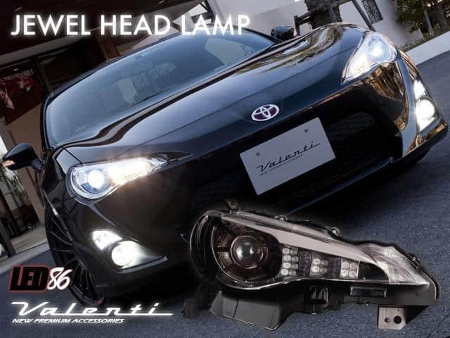 Valenti GTS/BRZ HID Headlight (Black)