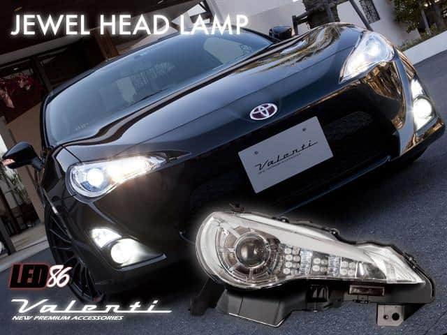 Valenti GTS/BRZ HID Headlight (Chrome)