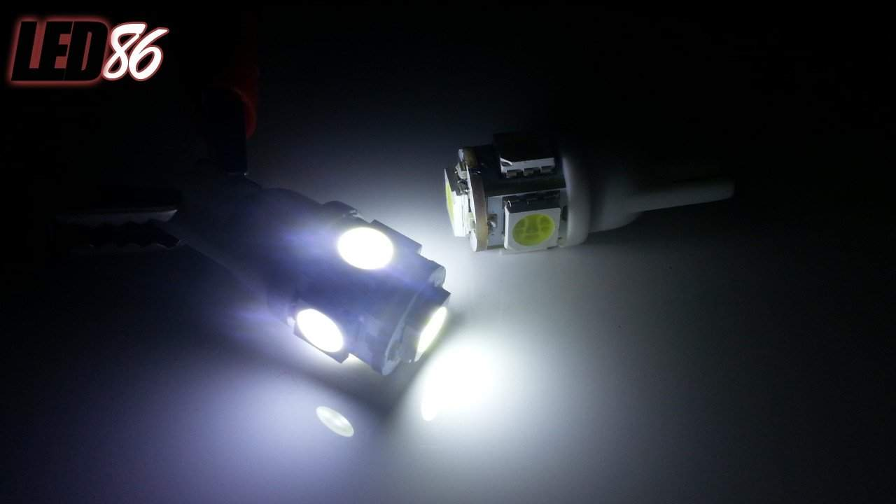 GT86 Parker Lights