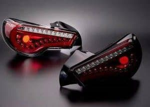 DazzFellows Clear Tail Lights