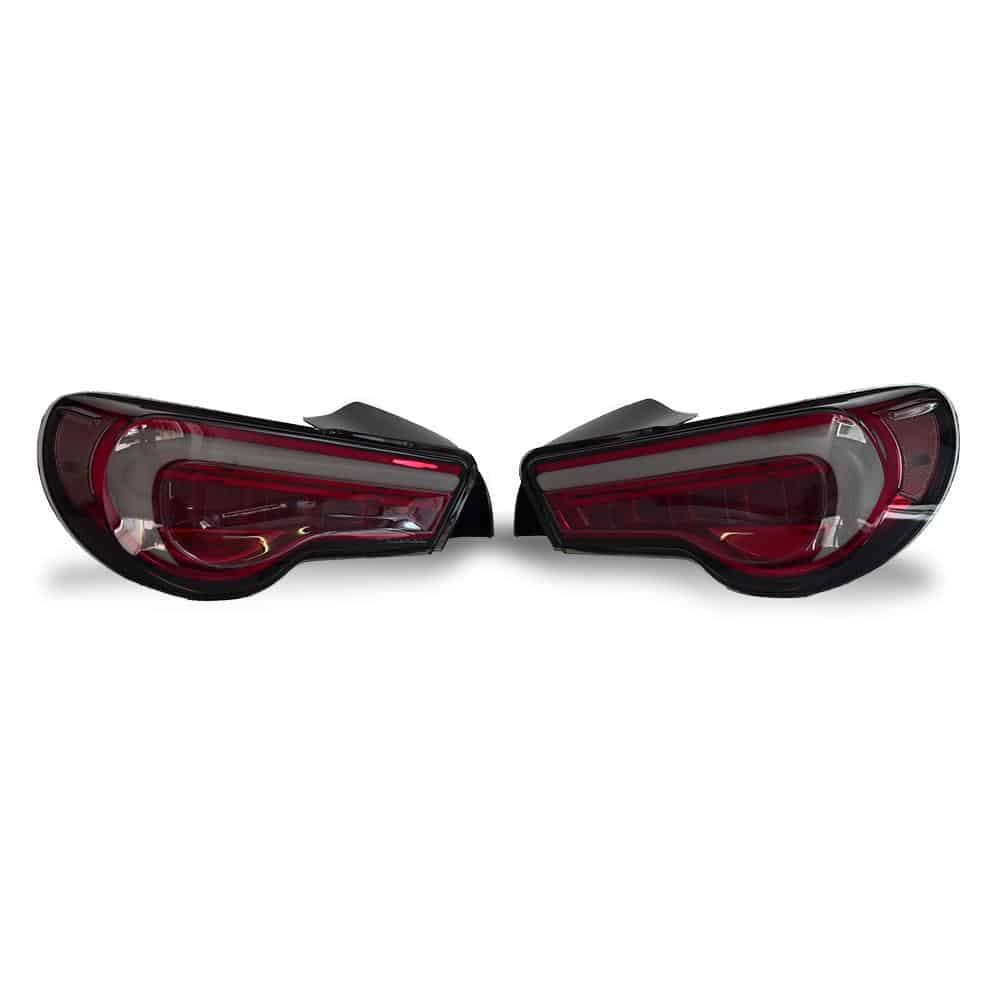 Valenti 86BRZ Revo Tail Lights (Smoked lens Red base)
